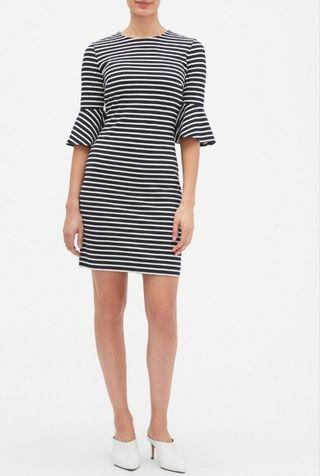 Banana Republic Stripe Fitted Dress