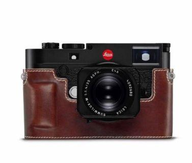 🚚 Leica M10 Leather Camera Protection, Vintage Brown
