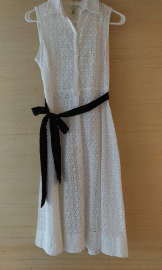 Banana Republic Cotton Eyelet dress
