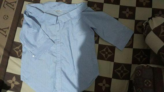 Beatrice stripe blouse