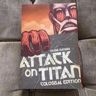 Attack on Titan colossal edition