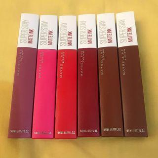 Maybelline Super Stay Matte Ink lipstik ori murah