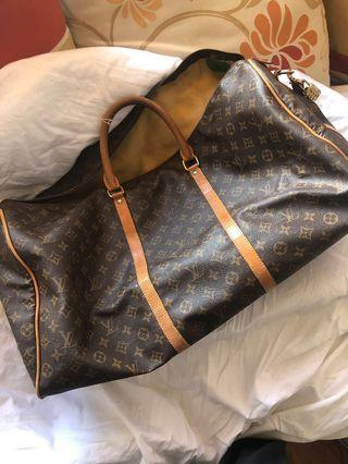 LV Louis Vuitton Keepall 60 Duffle Bag