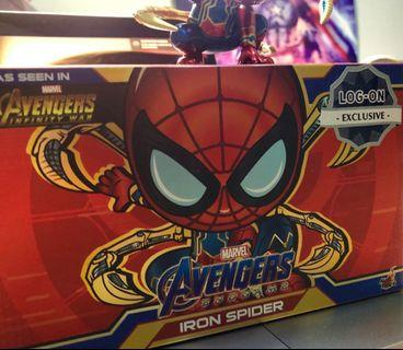 Iron spider x logon hot toys cosbaby limited edition