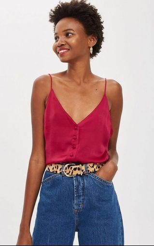 Cherry Red Camisole