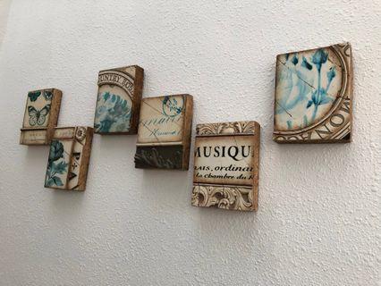 Ceramic Decor Slabs  (Sold as A Set)