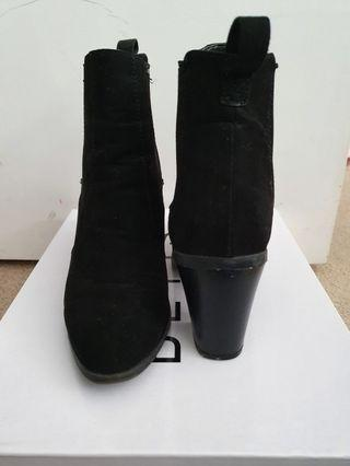 Betts Black Suede Sienna Boots