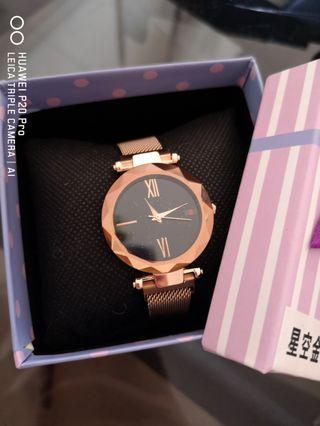 Diamond Galaxy Watch 💎