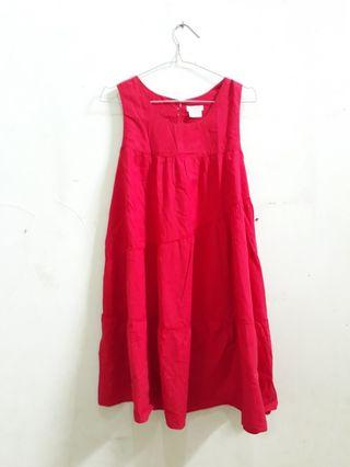 CUTE RED DRESS SIZE XL
