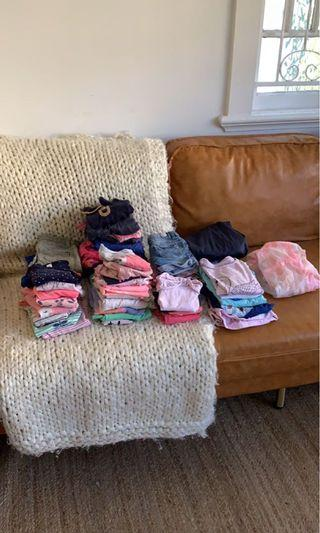 TODDLER - Girl (1 to 3) - entire bundle $50