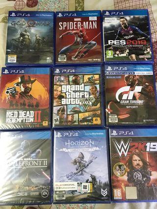 cd games ps4 new