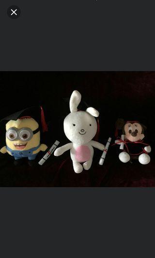 🚚 Graduation soft toy
