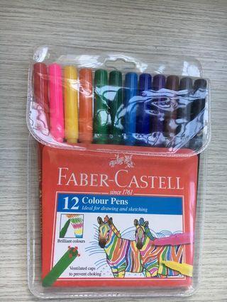 🚚 Faber Castell Colour Pens