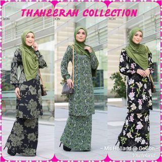 Baju Kurung Modern by Thaheerah Collection Free Postage Free Gift