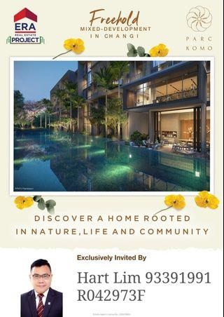 Launching this weekend -  Mix Freehold Development that is nearest to Changi Jewel