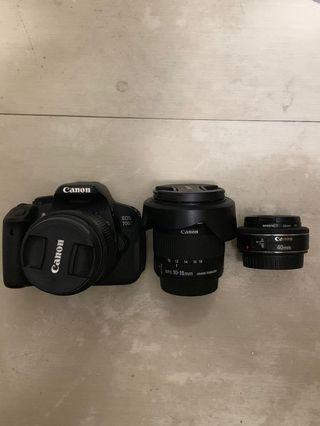 Canon 700d 3 lens