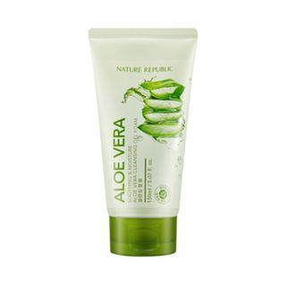 Nature Republic Soothing & Moisture Aloe Vera Cleansing GEL FOAM 150ml