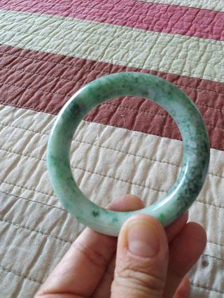 Jadeite jade grade A bangle 58mm