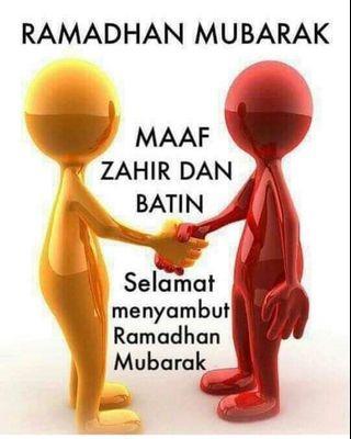 Ramadhan Kareem for all my muslim friends