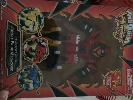 [WTS] Power Rangers Jungle Fury Jungle pride megazord