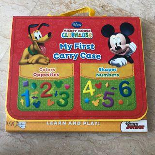 🚚 Disney Mickey Mouse club house - my first carry case board book