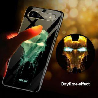 Luminious Ironman Soft TPU Casing | Samsung Galaxy