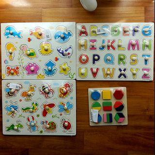 3D grisp baby / toddler learning set