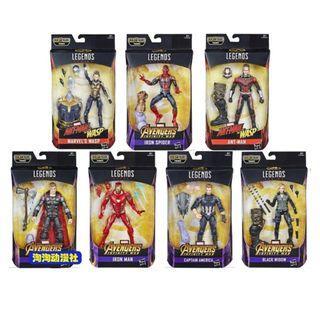 Marvel legends Infinity War Thanos baf avengers