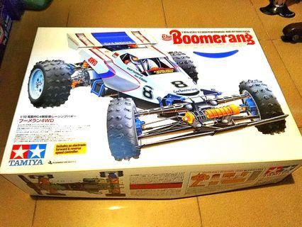 Tamiya Boomerang  NIB. Re-release Esc Included