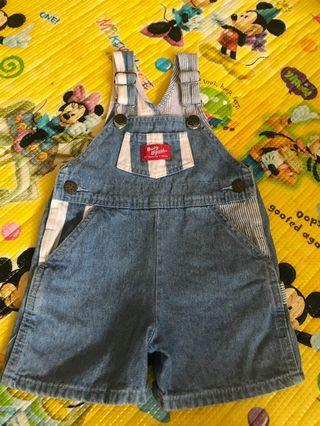 OshKosh B'Gosh Denim Romper 18 months