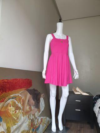 Zara Fushia dress