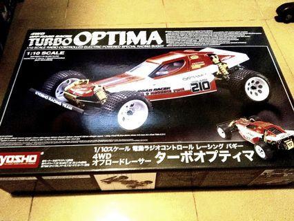 Kyosho Turbo Optima {Brand New) JRM.  (Limited Run)Direct Japan Import!  Factory sealed