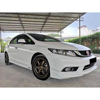 Honda Civic 1.8 (auto) Full service record under warranty 2015 year make