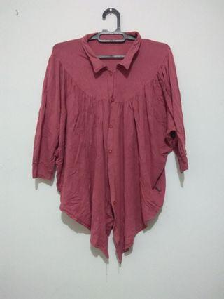 Blouse pink dusty