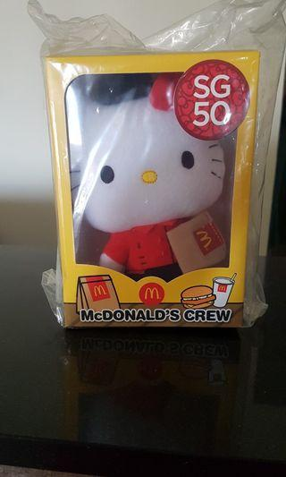 SG50 Hello Kitty - Mcdonald's Crew