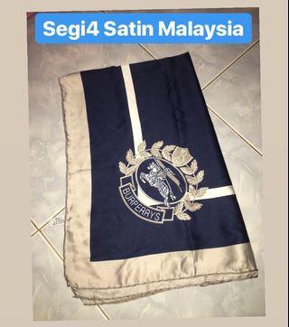Jilbab Segi Empat Satin Malaysia