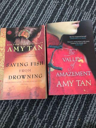🚚 Amy Tan x 2 books