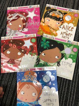 🚚 Sparkle town fairies x5 books