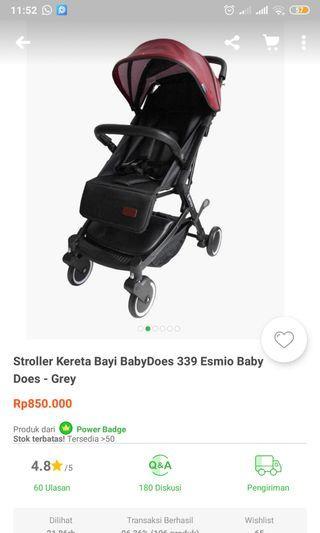 Stroller baby esmio