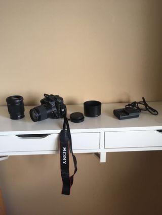 Sony a350 & 2 lenses