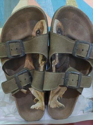 Hush puppies sandal.