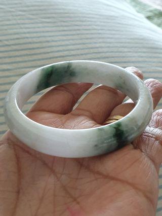 Jadeite jade bangle 57mm
