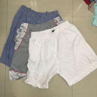 "3 x Short Pants 31""-32"""