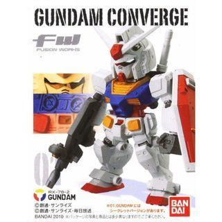 全新 Bandai FW Gundam Converge Part 1 No 1 RX-78-2 高達 Gundam 內袋未開封冇盒