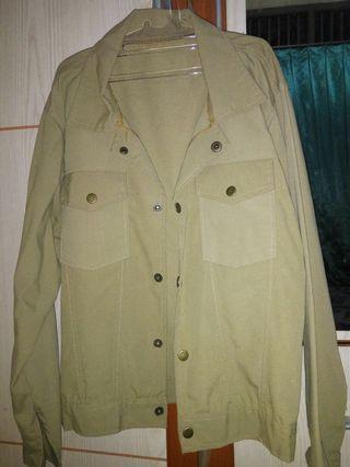 Safari jaket brown
