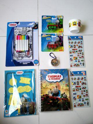 🚚 Thomas & Friends: World of Adventure stationery & toys set