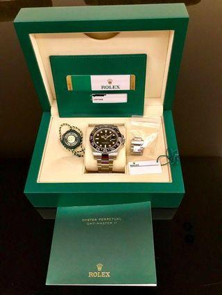 🚚 [Brand New] Rolex GMT Master 2 (Discontinued Model)