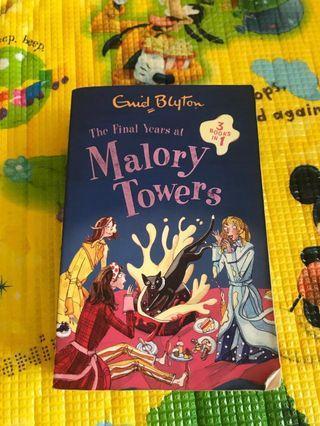 🚚 Enid Blyton The Final Years at Malory Towers 3-books-in-1
