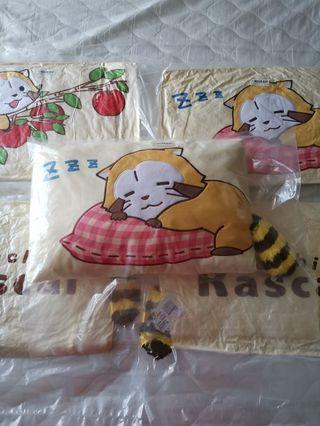 Rascal Racoon Pillow