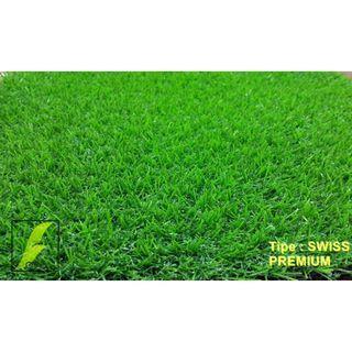 karpet rumput sintetis kulitas premium Tipe: Swiss 1 x 1 m